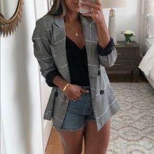 Jackets & Blazers - Check blazer